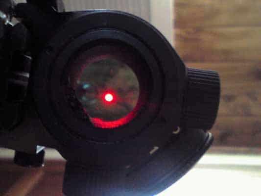 bushnell red dot sight